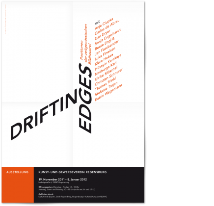 drifting edges Plakat