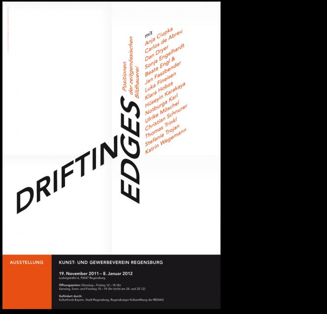 drifting edges Plakat: