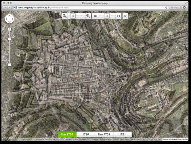 mapping-luxembourg.lu: Transparente Kartenansicht